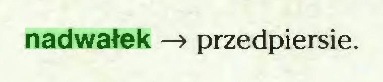 (...) nadwałek —> przedpiersie...