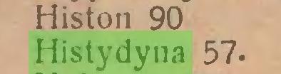 (...) Histon 90 Histydyna 57...