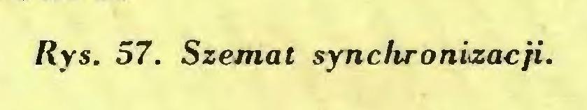 (...) Rys. 57. Szemat synchronizacji...