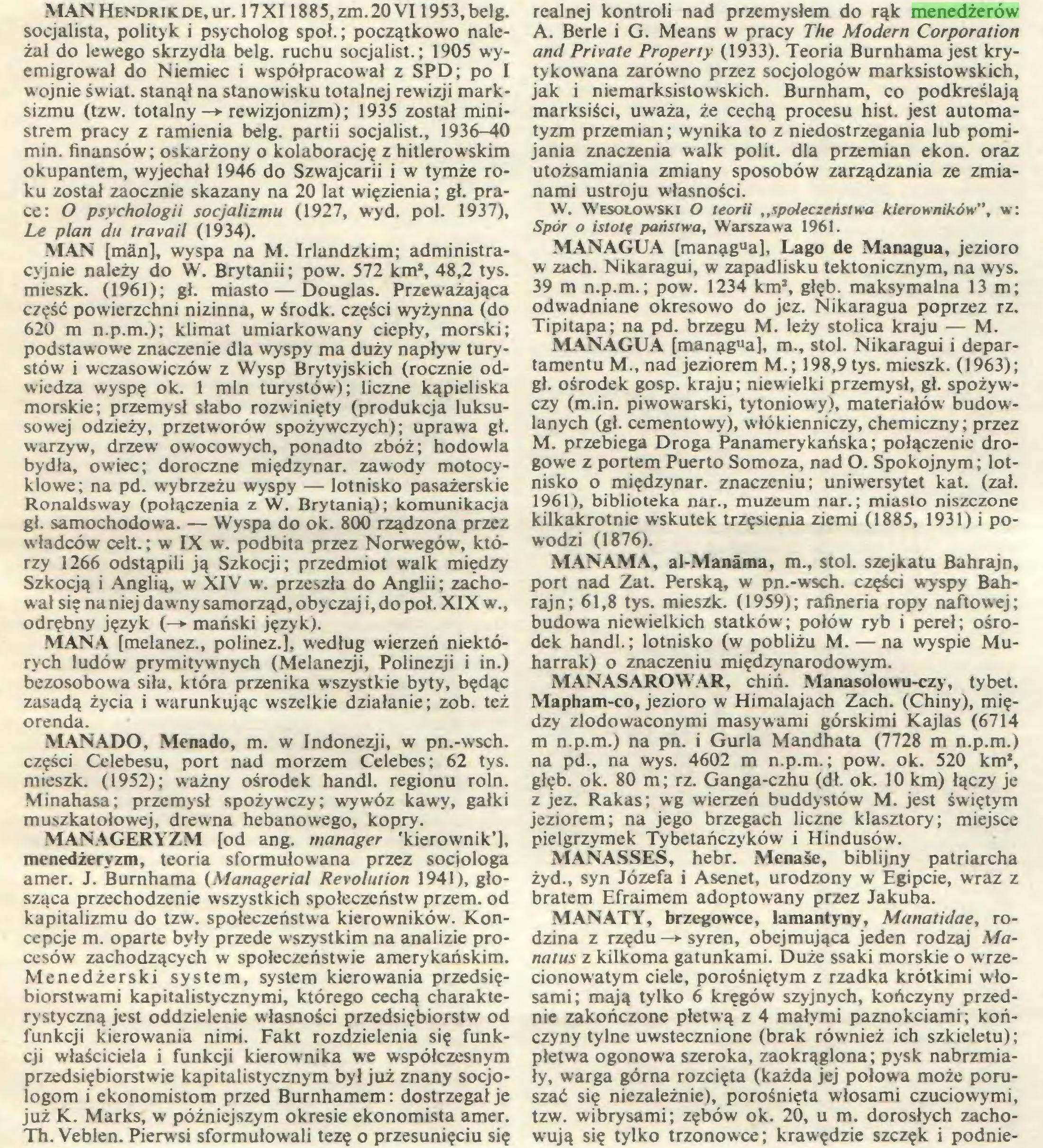 (...) Th. Veblen. Pierwsi sformułowali tezę o przesunięciu się realnej kontroli nad przemysłem do rąk menedżerów A. Berle i G. Means w pracy The Modern Corporation and Prívate Property (1933). Teoria Bumhama jest krytykowana zarówno przez socjologów marksistowskich, jak i niemarksistowskich. Burnham, co podkreślają...