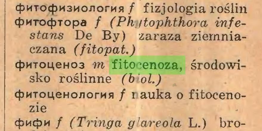 (...) cpMTocpM3Mo.norMH / fizjologia roślin cpkTO<pTopa / (Phytophthora infestans De By) zai-aza ziemniaczana (fitopat.) cf)HToueH03 m fitocenoza, środowisko roślinne (b ol.) cjJMTOLłeHonorMsi / r auka o fitocenozie cpHcpM / (Tringa g'areola L.) bro...