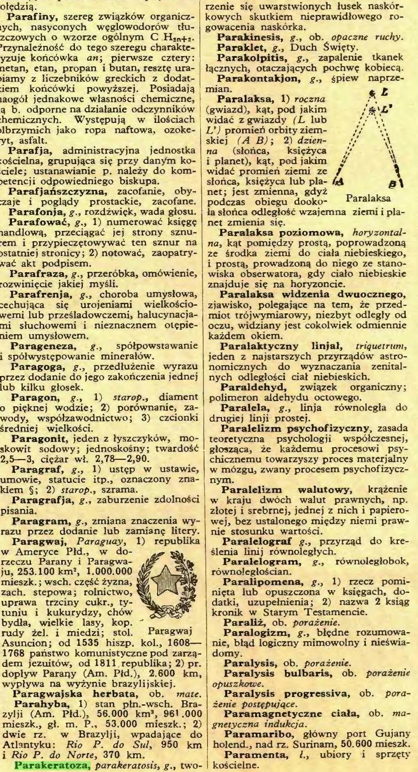 (...) Parakeratoza, parakeratosis, g., two- /*»<** rżenie się uwarstwionych łusek naskórkowych skutkiem nieprawidłowego rogowacenia naskórka...