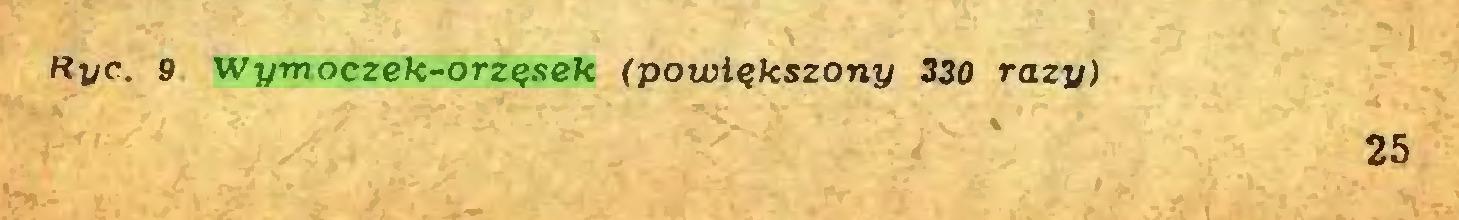(...) Hyc.. 9 Wymoczek-orzęsek (powiększony 330 razy) 25...
